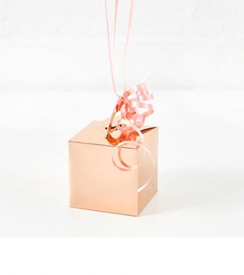 Ballongewicht-Hüllen aus Papier - rosegold - 10 Stück