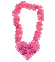 "Hawaii-Kette mit Herz ""Bride to Be"""