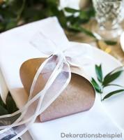 Kraftpapier-Geschenkboxen - 8,5 x 7 cm - 10 Stück