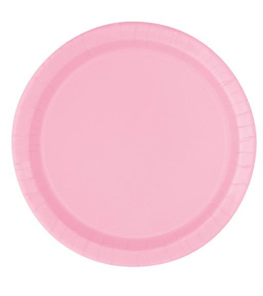 """Pappteller """"Lovely Pink"""" - 16 Stück"""