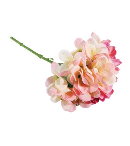 Künstliche Hortensie - pink - 33 cm