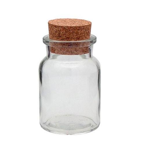 Korkenglas - rund - 150 ml
