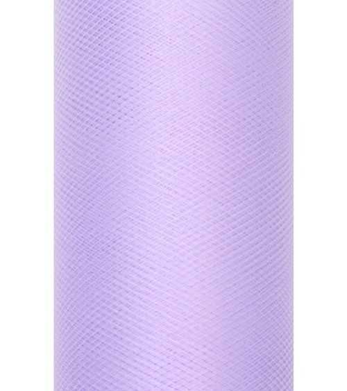 Tischläufer aus Tüll - lavendel - 30 cm x 9 m