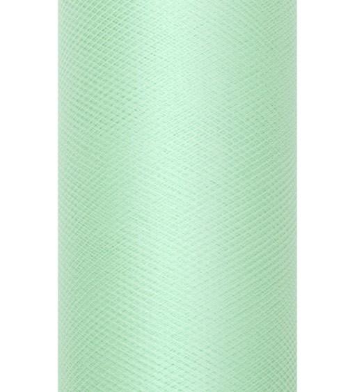 Tischläufer aus Tüll - mint - 30 cm x 9 m