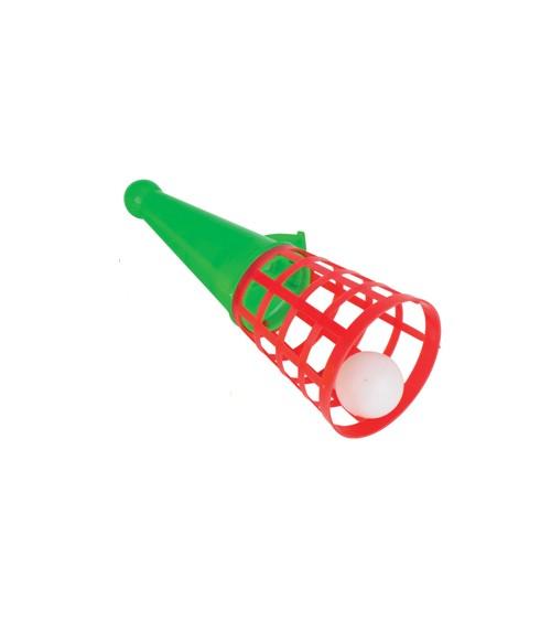 "Fangspiel ""Pop n Catch"" - bunt - 18,5 cm"