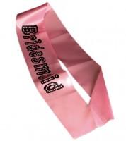 Bridesmaid Schärpe - rosa