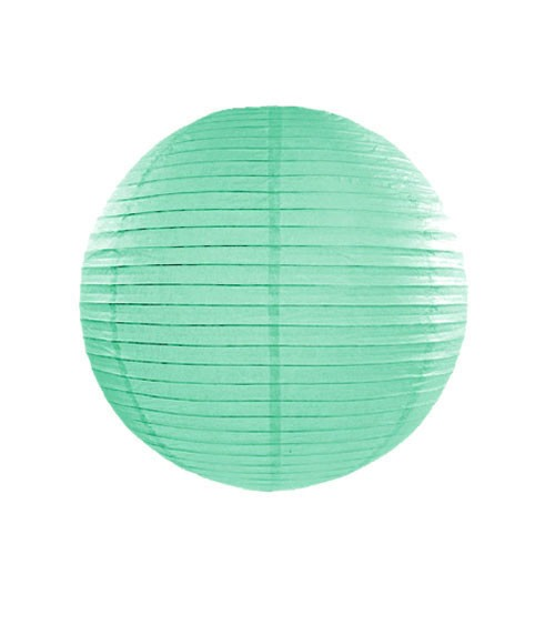 Papierlampion - tiffany blue - 25 cm