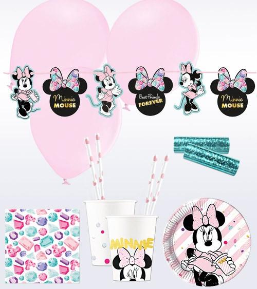"""Deko-Set """"Minnie Maus Party"""" - 50-teilig"""