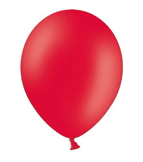 Standard-Luftballons - rot - 10 Stück