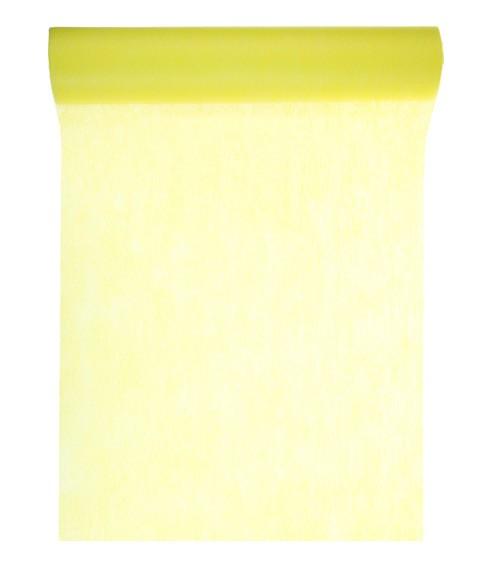 Tischläufer aus Vlies - gelb - 30 cm x 10 m