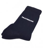"""Hochzeits-Socken """"Trauzeuge"""" - schwarz"""
