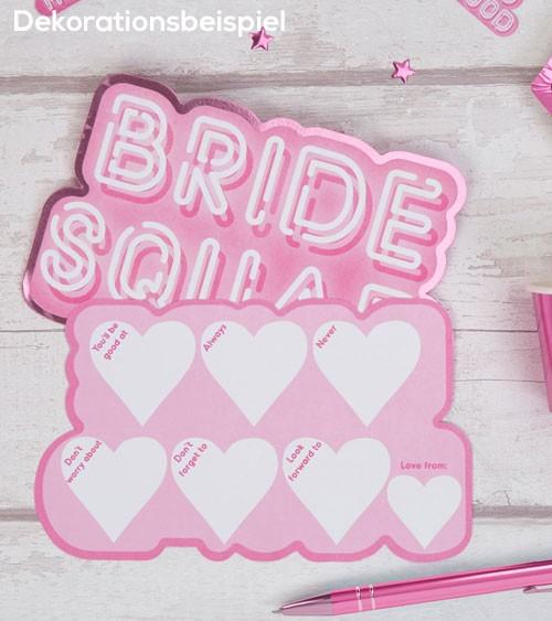 """Advice-Cards """"Bride Squad"""" - 10 Stück"""