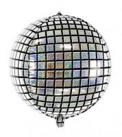 Discokugel-Folienballon - 40 cm