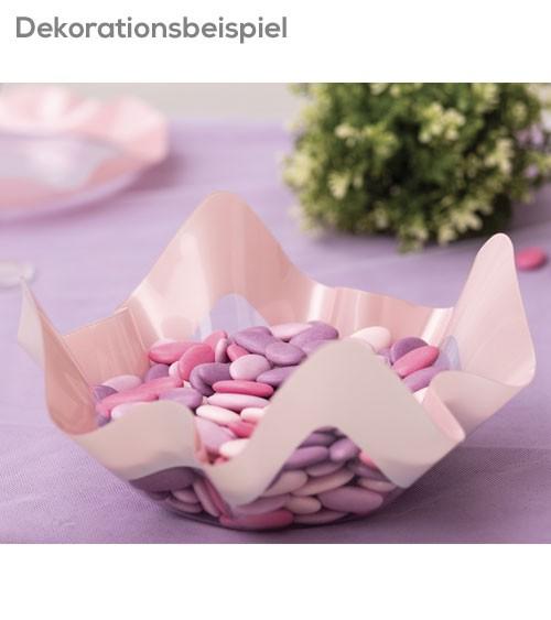 "Servierschale ""Pearl"" - rosa - 22,5 x 12 cm"