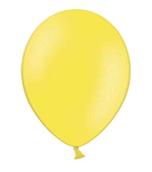 Standard-Luftballons - limonengelb - 10 Stück