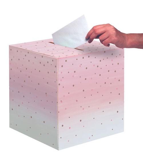 "Kartenbox ""Rosé All Day"" - 30,4 x 30,4 cm"
