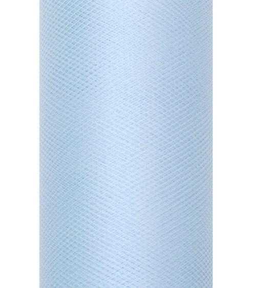 Tischläufer aus Tüll - skyblue - 30 cm x 9 m