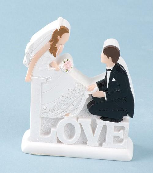Deko Figur Hochzeitspaar