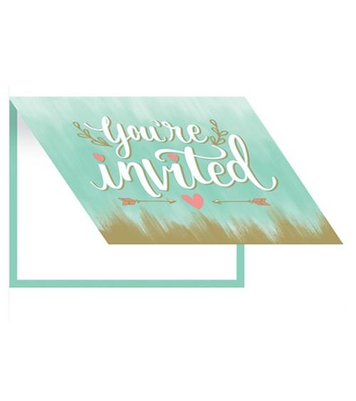 "Einladungskarten ""I do"" - 8 Stück"