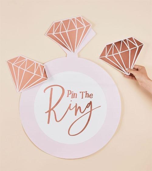 "JGA Partyspiel ""Pin the Ring"" - 21-teilig"