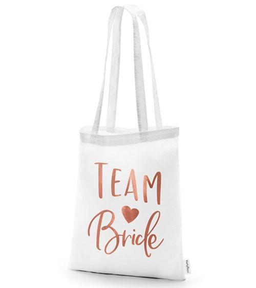 """Baumwoll-Beutel """"Team Bride"""""""
