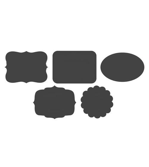 "Cutouts ""Kreidetafel"" - 5 Stück"
