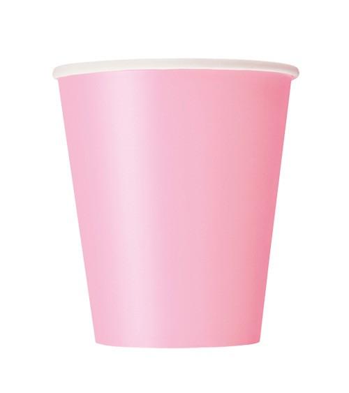 """Pappbecher """"Lovely Pink"""" - 14 Stück"""