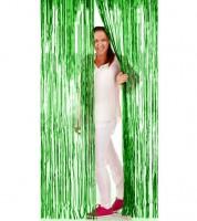 Glitzer-Vorhang - grün - 1 x 2 m