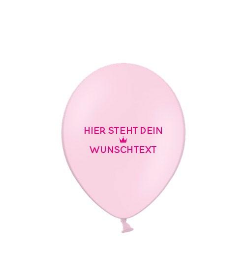 "Deine Luftballons ""Motiv & Text"" - pastell - 100 Stück"