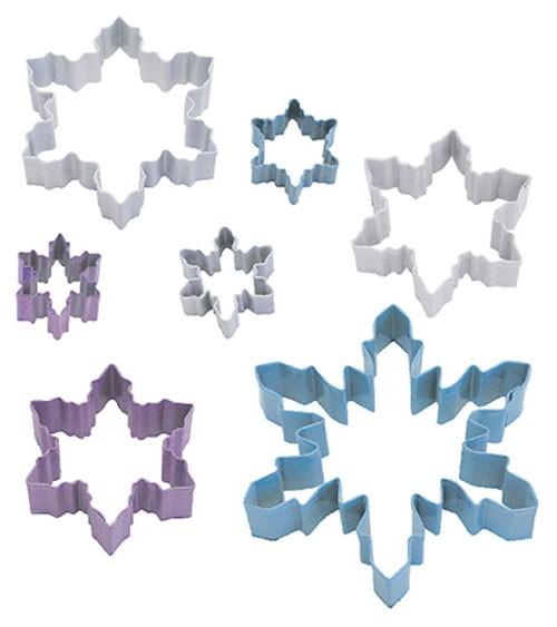 "Ausstechformen-Set ""Eiskristalle"" - 7-teilig"