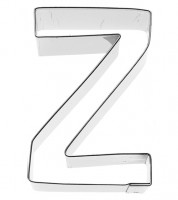 Ausstechform Buchstabe Z - 6 cm