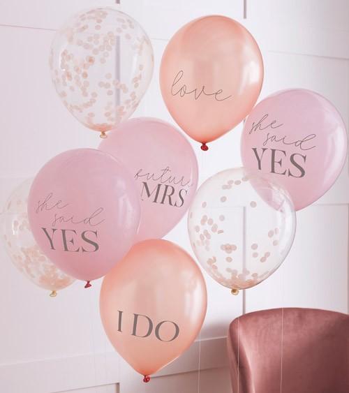 "Luftballon-Set ""Future Mrs"" - 8-teilig"