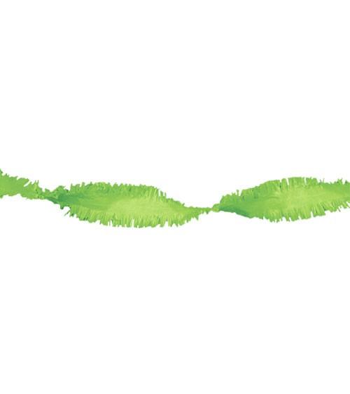 Drehgirlande 24 m - hellgrün