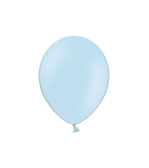 Mini-Luftballons - pastellblau - 12 cm - 100 Stück