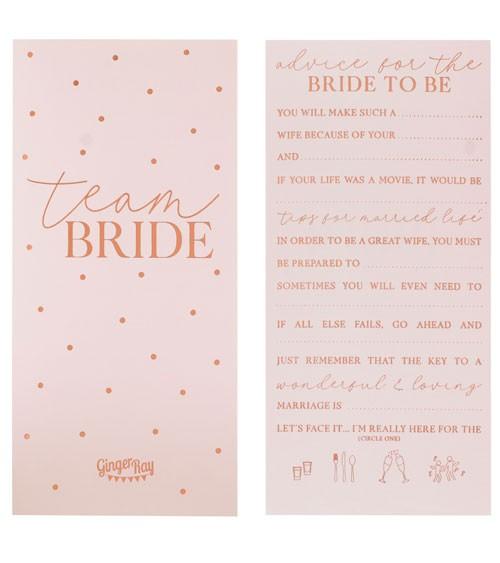 """Advice Cards """"Future Mrs"""" - 10 Stück"""