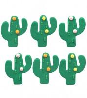 "Zuckerdekor ""Kaktus"" - 6 Stück"