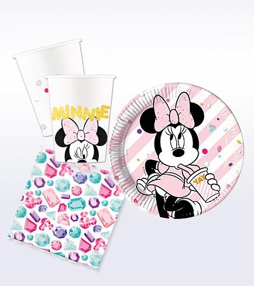 """Deko-Set """"Minnie Maus Party"""" - 36-teilig"""