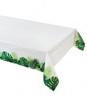 """Papier-Tischdecke """"Tropical Fiesta"""" - Palmblätter - 120 x 180 cm"""