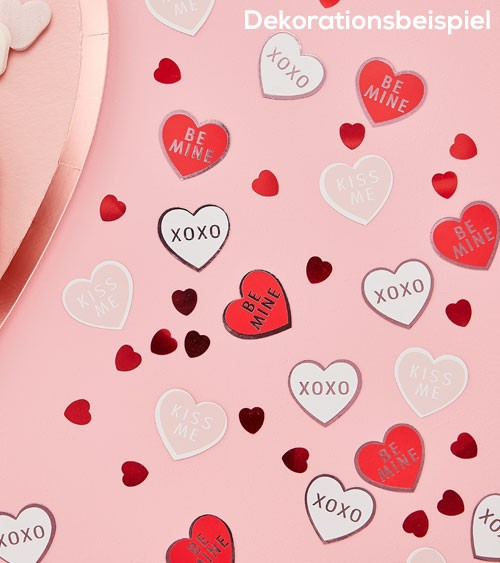 "Herz-Konfetti ""Be My Valentine"" - 14 g"