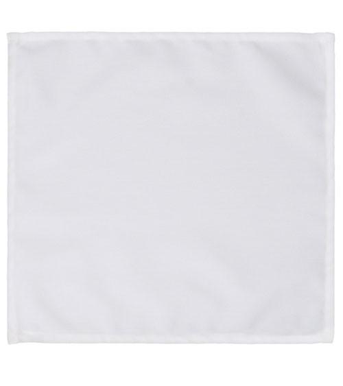 Servietten aus Stoff - weiß - 25 Stück