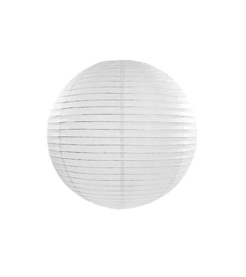 Papierlampion - weiß - 20 cm