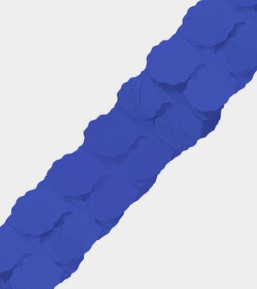 Papiergirlande - 3,65 m - dunkelblau