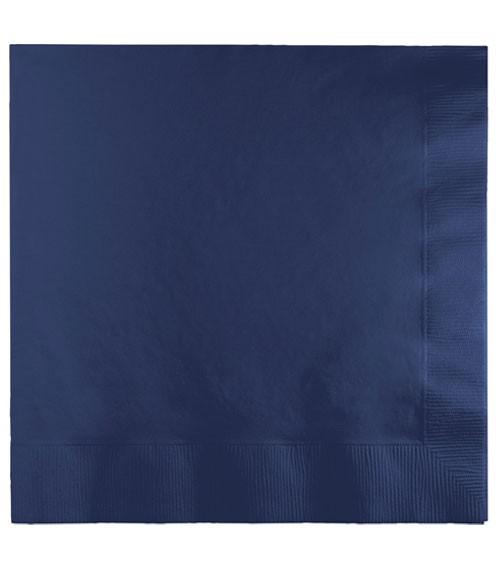 Servietten - navy blue - 50 Stück