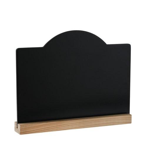 Kreidetafel zum Aufstellen - 20 x 15 cm