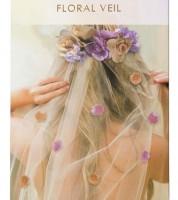 """Haarreifen mit Schleier und Blüten """"Blossom"""""""