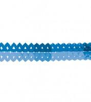 "Mini-Papiergirlanden ""Farbmix Blau"" - 2 m - 2 Stück"