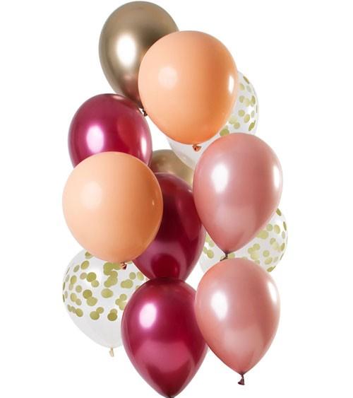 """Luftballon-Set """"Rich Ruby"""" - 12-teilig"""