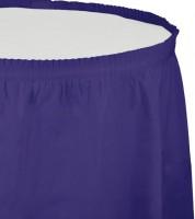 Tischverkleidung - lila - 4,26 m
