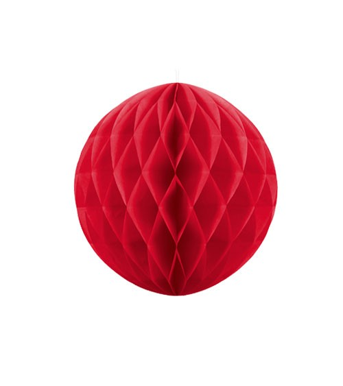 Wabenball - 10 cm - rot