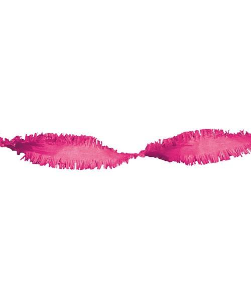 Drehgirlande 6 m - pink